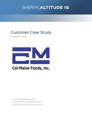 Cal-Maine Foods: Migrating Data from User Mailboxes into PST Files