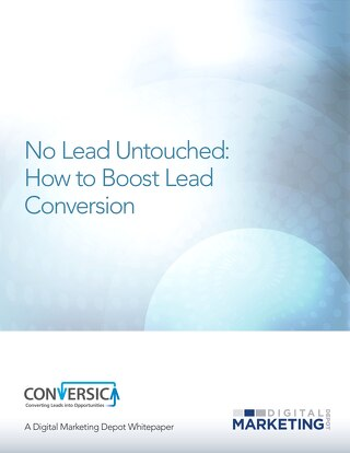 eBook - No Lead Untouched: How to Boost Lead Conversion