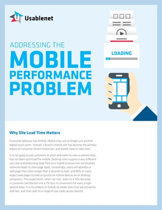 Mobile Performance White Paper