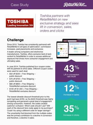 Toshiba Case Study