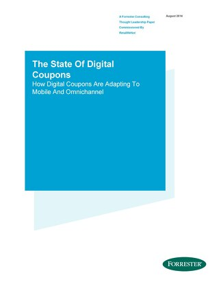 The State of Digital Coupons
