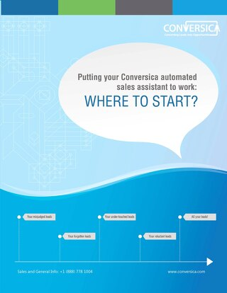 Putting your Conversica automated sales assistant to work: Where to Start?