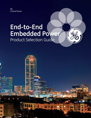 End-to-End Embedded Power Product Selection Guide