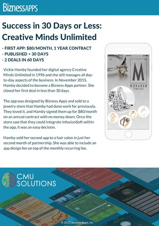 Bizness Apps Success Story- CMU