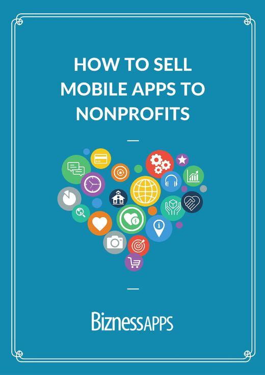 How to sell mobile apps to nonprofits