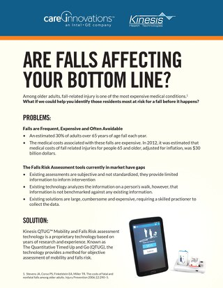 Are Falls Affecting Your Bottom Line? QTUG One-Sheet
