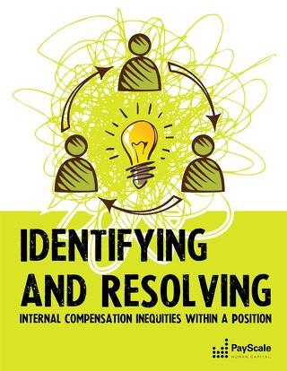 Identifying & Resolving Internal Comp Inequities within a Position