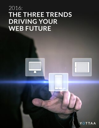 The Three Trends Driving Your Web Future in 2016