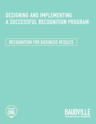 Recognition for Business Results