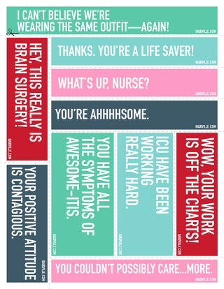 Nurse Appreciation Print-n-Post