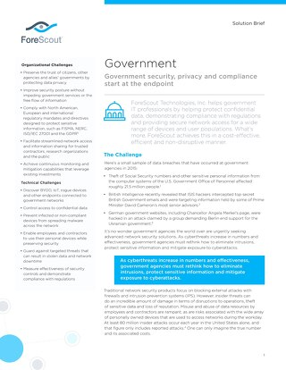 Government Solution Brief