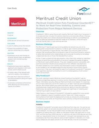 Meritrust Case Study