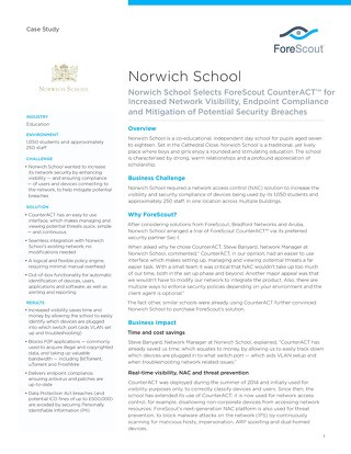 Norwich School Case Study
