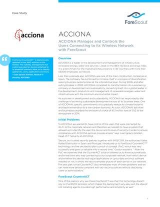 ACCIONA Case Study