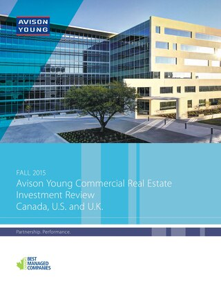 Avison Young Commercial Real Estate Investment Review
