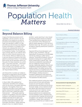 PopulationHealthMatters Winter 2016