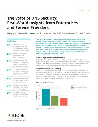 The State of DNS Security: Real-World Insights from Enterprises and Service Providers