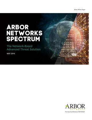 Arbor Networks Spectrum Architecture