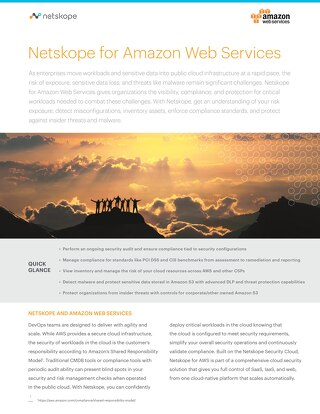 Netskope and Amazon