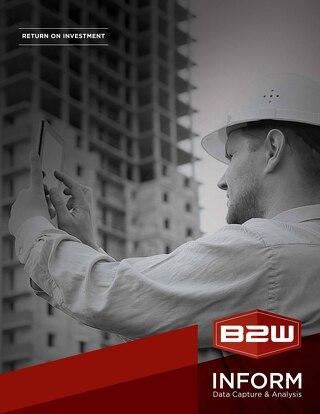 B2W Inform ROI Brochure
