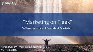 MarTech: Marketing On Fleek