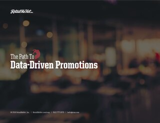 Data-Driven Promotions