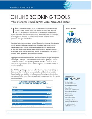 Online Booking Tools