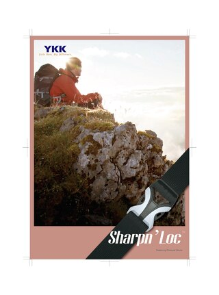 YKK lightweight and compact Sharpn'loc™ Series