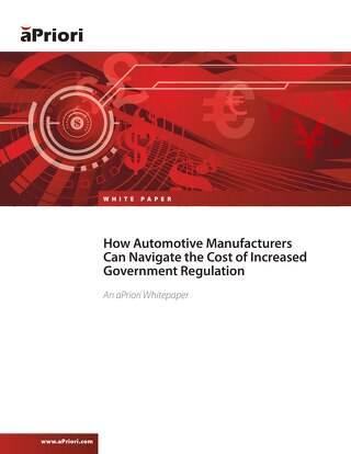 How Auto Manufacturers Can Navigate the Cost of Increased Government Regulation