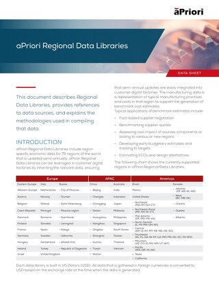 Regional Data Libraries