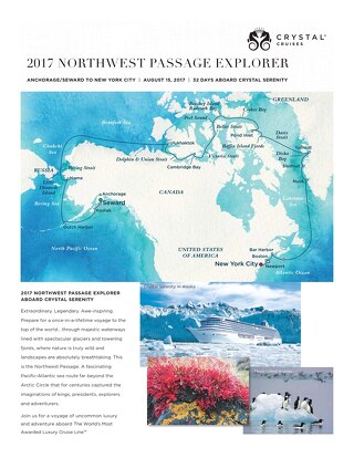Crystal 2017 Northwest Passage