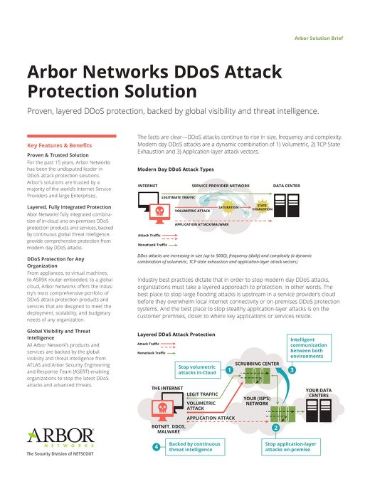 DDoS Attack Protection Solution