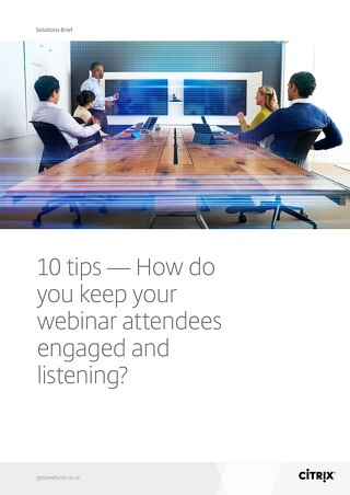 10 Tips How to Keep Your Webinar Audience Engaged and Listening