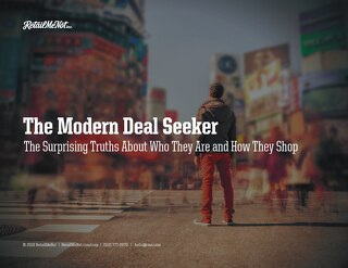 The Modern Deal Seeker: Who They Are & How They Shop