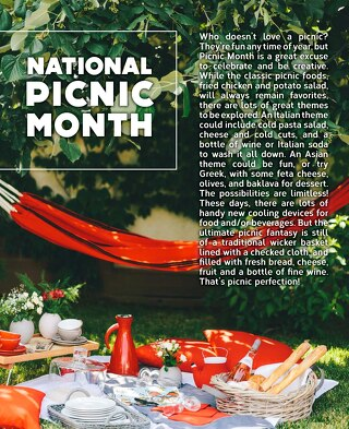July - National Picnic Month