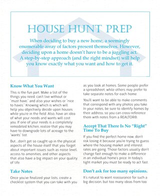 House Hunt Prep
