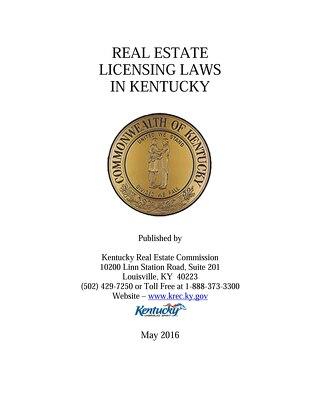 KREC Law Manual - May 2016