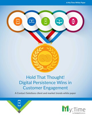 Hold That Thought! Digital Persistence Wins in Customer Engagement Whitepaper