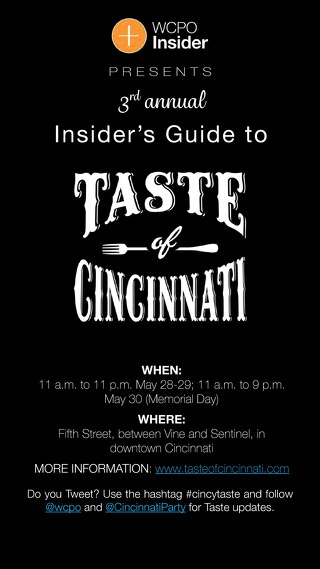Insider's Guide to Taste of Cincinnati 2016