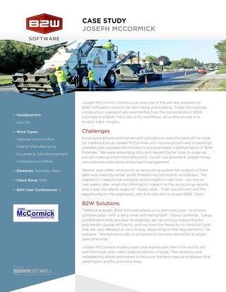 Joseph McCormick Construction