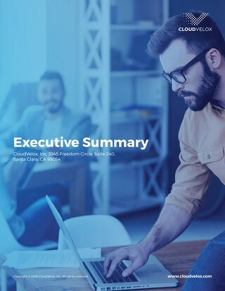 CloudVelox Executive Summary