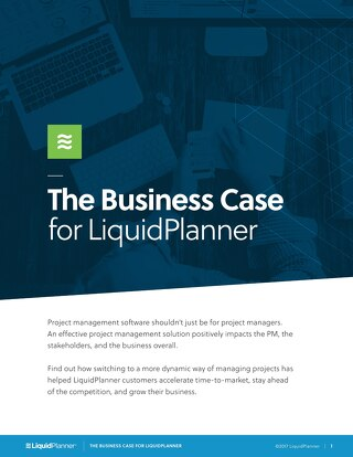 The Business Case for Using LiquidPlanner