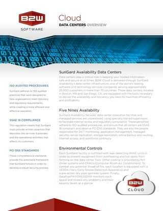 Data Centers Overview