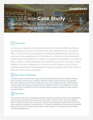 Liz Earle Case Study