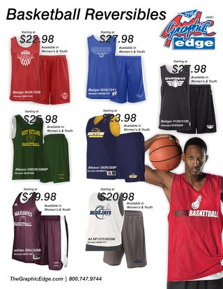 Basketball Reversible Sets - RH846