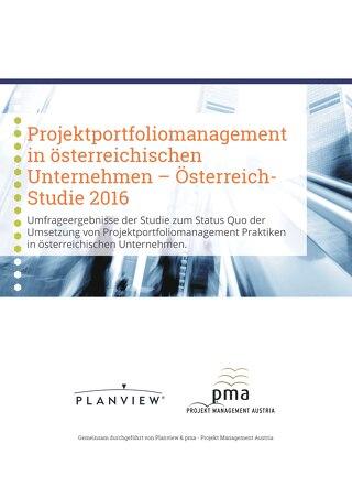Projektportfoliomanagement in österreichischen Unternehmen – Österreich-Studie 2016