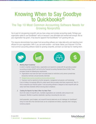 Know When to Say Goodbye to Quickbooks