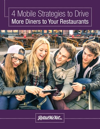 4 Mobile Strategies to Drive More Diners To Your Restaurants