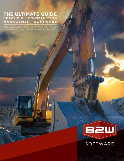 Guide to Heavy Construction Software - Management, Estimating, Scheduling, Tracking & Data Analysis