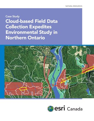 Cloud-based Field Data Collection Expedites Environmental Study in Northern Ontario